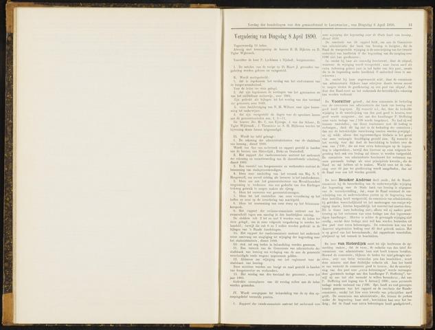 Raadsverslagen van de gemeente Leeuwarden, 1865-2007 (Notulen) 1890-04-08