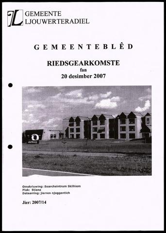 Notulen van de gemeenteraad van Leeuwarderadeel 2007-12-20