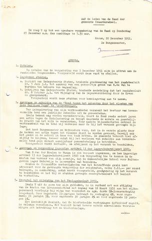 raadsverslagen Idaarderadeel 1935-1983 1951-12-27