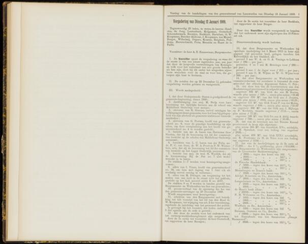 Raadsverslagen van de gemeente Leeuwarden, 1865-2007 (Notulen) 1909