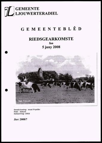 Notulen van de gemeenteraad van Leeuwarderadeel 2008-06-05