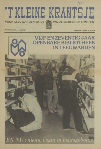 't Kleine Krantsje, 1964-1997 1980-12-18