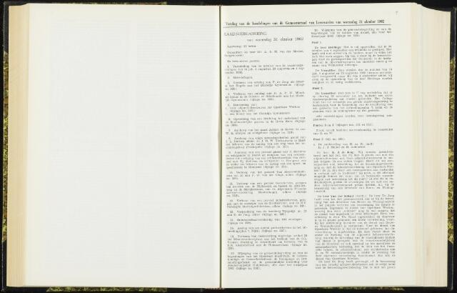 Raadsverslagen van de gemeente Leeuwarden, 1865-2007 (Notulen) 1962-10-31