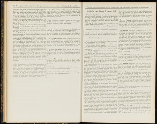Raadsverslagen van de gemeente Leeuwarden, 1865-2007 (Notulen) 1910-01-25