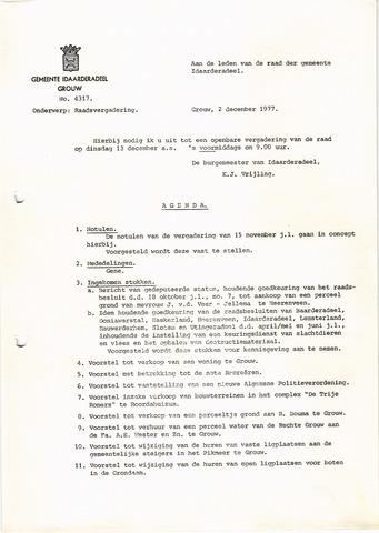 raadsverslagen Idaarderadeel 1935-1983 1977-12-13