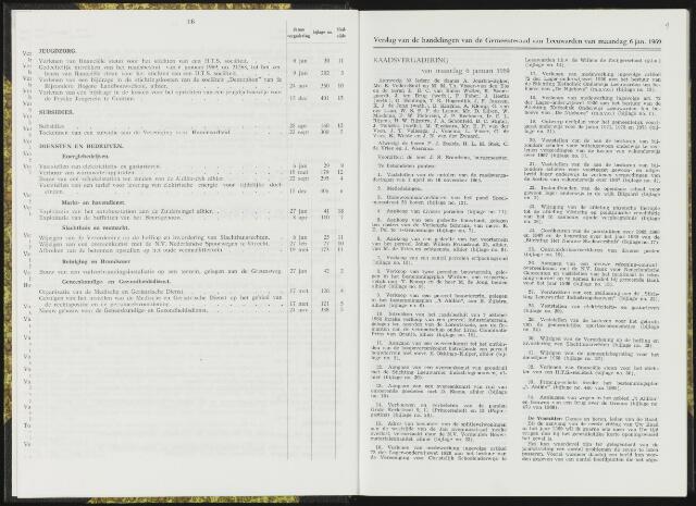 Raadsverslagen van de gemeente Leeuwarden, 1865-2007 (Notulen) 1969