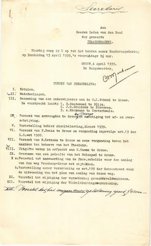 raadsverslagen Idaarderadeel 1935-1983 1939-04-13