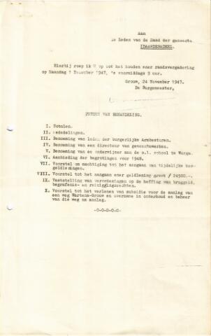 raadsverslagen Idaarderadeel 1935-1983 1947-12-01
