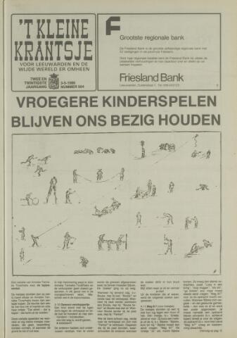 't Kleine Krantsje, 1964-1997 1986-05-03