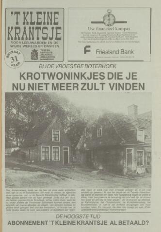 't Kleine Krantsje, 1964-1997 1996-01-01