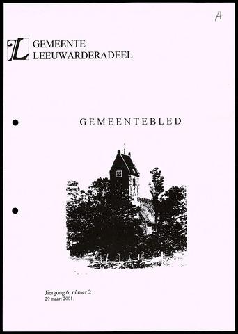 Notulen van de gemeenteraad van Leeuwarderadeel 2001-03-29