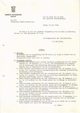raadsverslagen Idaarderadeel 1935-1983 1963-05-30