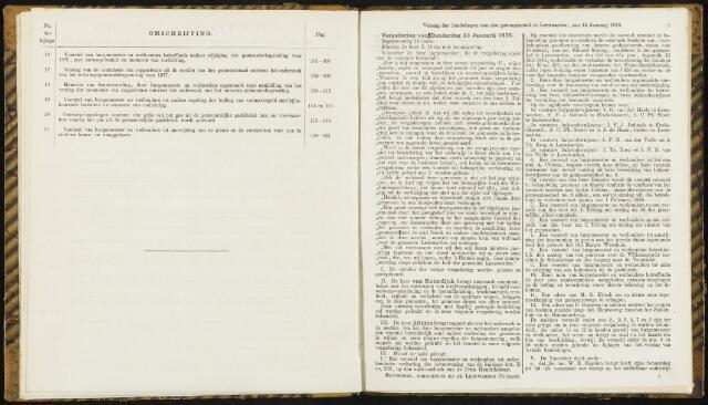 Raadsverslagen van de gemeente Leeuwarden, 1865-2007 (Notulen) 1876