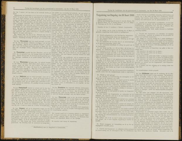 Raadsverslagen van de gemeente Leeuwarden, 1865-2007 (Notulen) 1889-03-26