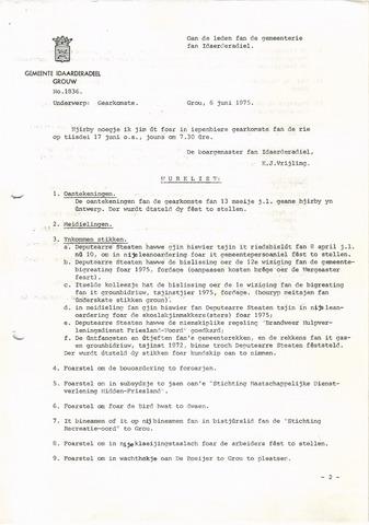 raadsverslagen Idaarderadeel 1935-1983 1975-06-17