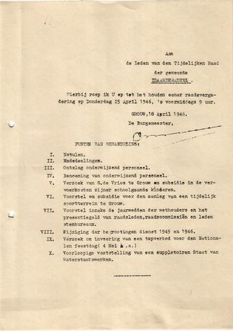 raadsverslagen Idaarderadeel 1935-1983 1946-04-25