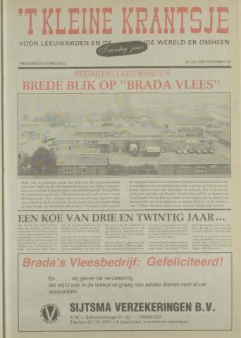 't Kleine Krantsje, 1964-1997 1983-10-22