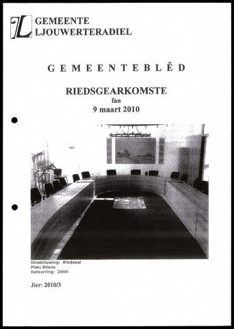 Notulen van de gemeenteraad van Leeuwarderadeel 2010-03-09