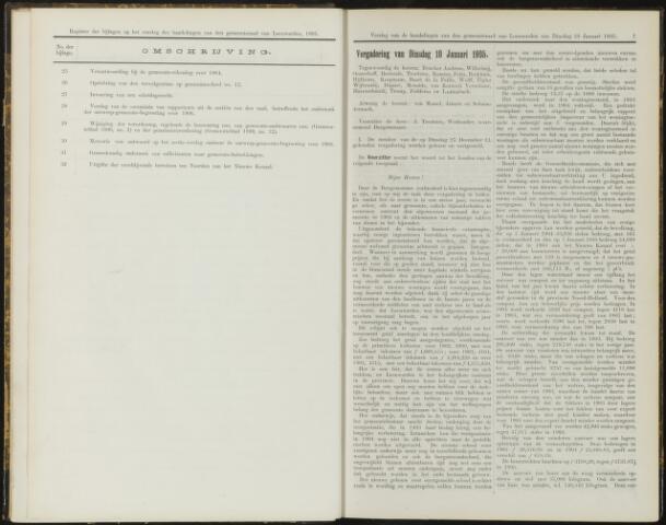 Raadsverslagen van de gemeente Leeuwarden, 1865-2007 (Notulen) 1905