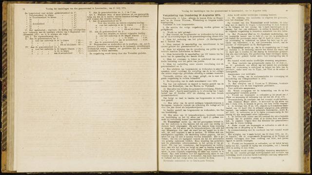 Raadsverslagen van de gemeente Leeuwarden, 1865-2007 (Notulen) 1874-08-13