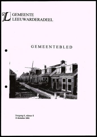 Notulen van de gemeenteraad van Leeuwarderadeel 2001-12-13