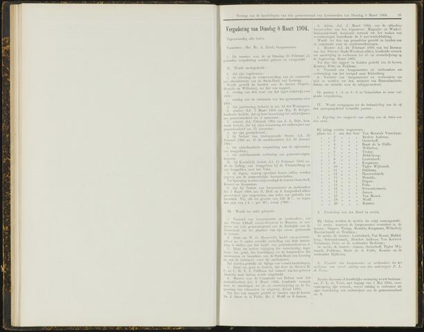 Raadsverslagen van de gemeente Leeuwarden, 1865-2007 (Notulen) 1904-03-08