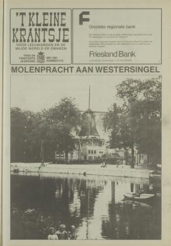 't Kleine Krantsje, 1964-1997 1987-05-01