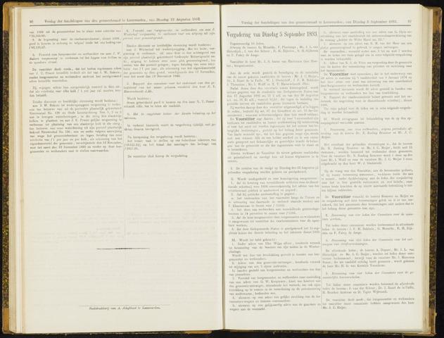 Raadsverslagen van de gemeente Leeuwarden, 1865-2007 (Notulen) 1893-09-05