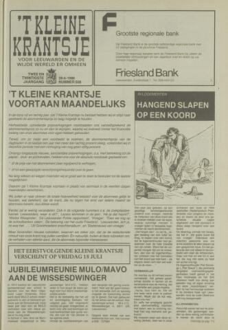 't Kleine Krantsje, 1964-1997 1986-06-28
