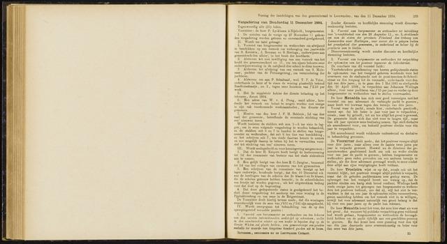 Raadsverslagen van de gemeente Leeuwarden, 1865-2007 (Notulen) 1884-12-11