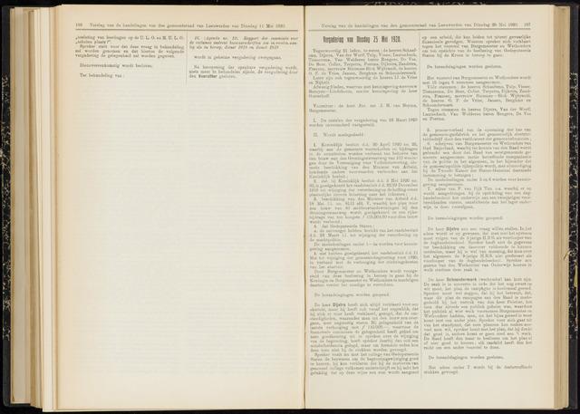 Raadsverslagen van de gemeente Leeuwarden, 1865-2007 (Notulen) 1920-05-25