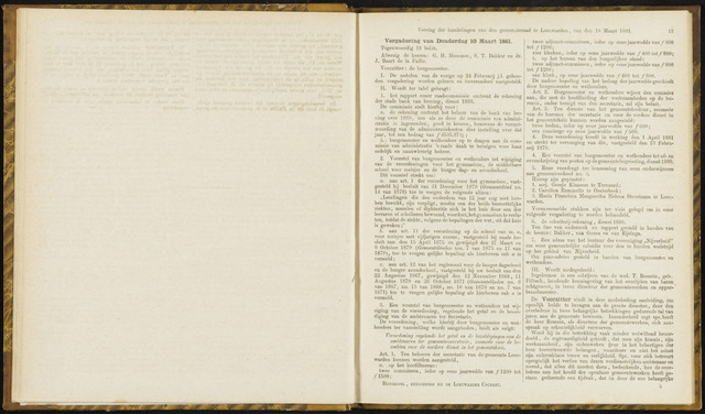 Raadsverslagen van de gemeente Leeuwarden, 1865-2007 (Notulen) 1881-03-10