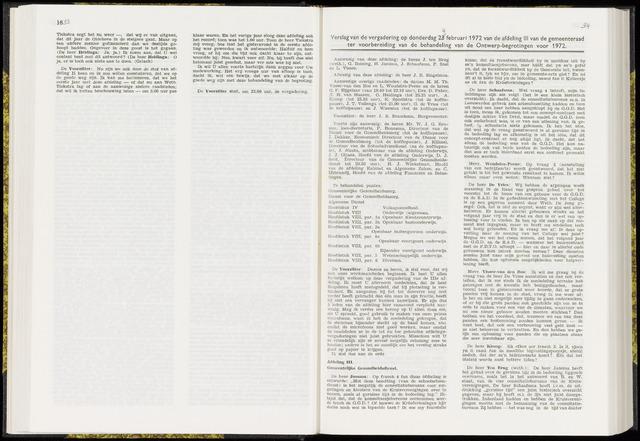 Raadsverslagen van de gemeente Leeuwarden, 1865-2007 (Notulen) 1972-02-24