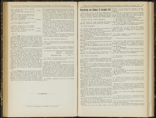 Raadsverslagen van de gemeente Leeuwarden, 1865-2007 (Notulen) 1901-12-10