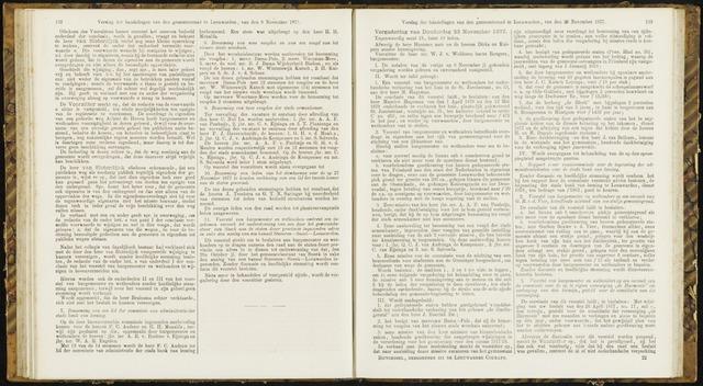 Raadsverslagen van de gemeente Leeuwarden, 1865-2007 (Notulen) 1877-11-22