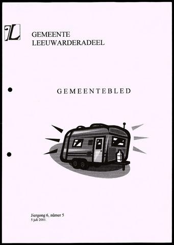 Notulen van de gemeenteraad van Leeuwarderadeel 2001-07-05
