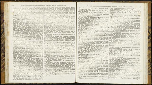 Raadsverslagen van de gemeente Leeuwarden, 1865-2007 (Notulen) 1878-12-12