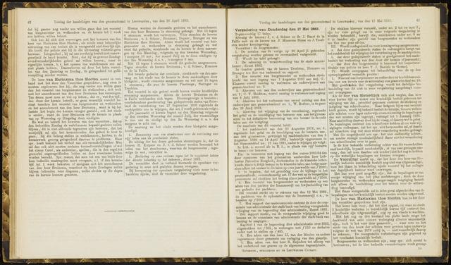 Raadsverslagen van de gemeente Leeuwarden, 1865-2007 (Notulen) 1883-05-17