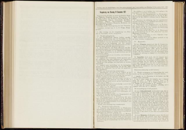 Raadsverslagen van de gemeente Leeuwarden, 1865-2007 (Notulen) 1917-12-18
