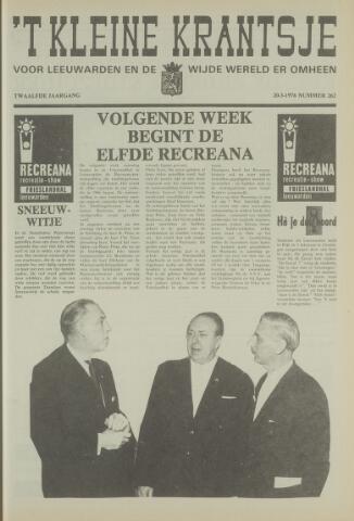 't Kleine Krantsje, 1964-1997 1976-03-20