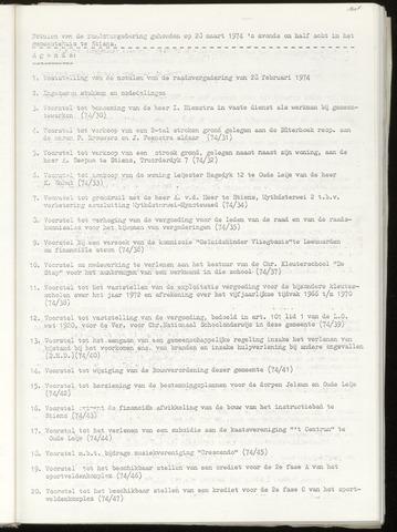 Notulen van de gemeenteraad van Leeuwarderadeel 1974-03-23