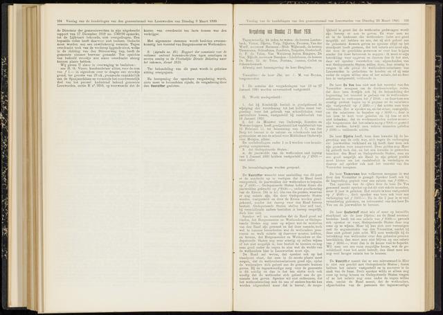Raadsverslagen van de gemeente Leeuwarden, 1865-2007 (Notulen) 1920-03-23
