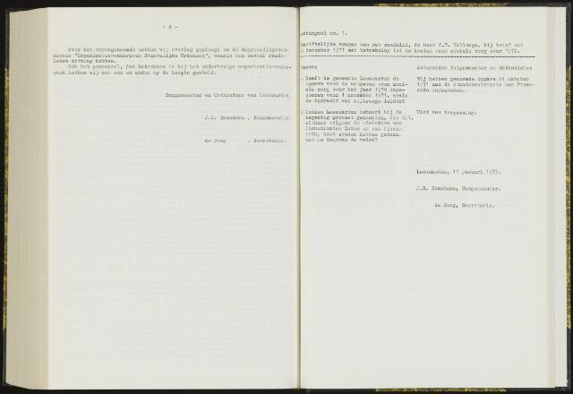 Raadsverslagen van de gemeente Leeuwarden, 1865-2007 (Schriftelijke vragen) 1972-01-01
