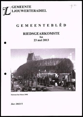 Notulen van de gemeenteraad van Leeuwarderadeel 2013-05-23