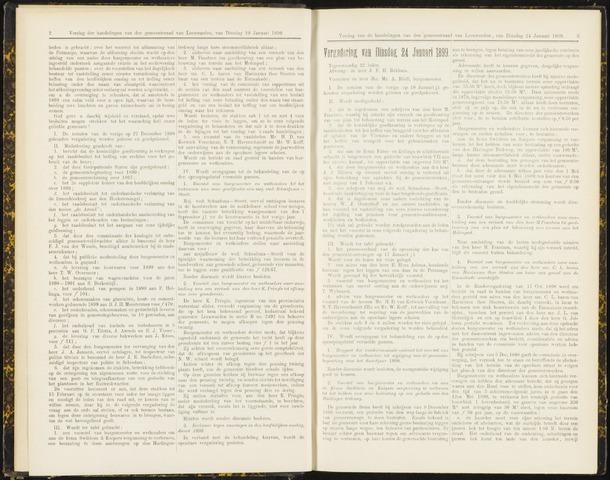 Raadsverslagen van de gemeente Leeuwarden, 1865-2007 (Notulen) 1899-01-24