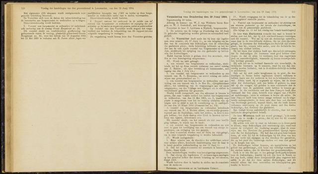 Raadsverslagen van de gemeente Leeuwarden, 1865-2007 (Notulen) 1884-06-19