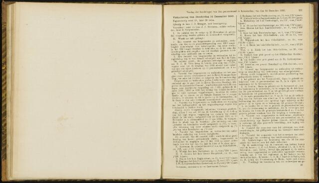 Raadsverslagen van de gemeente Leeuwarden, 1865-2007 (Notulen) 1882-12-14