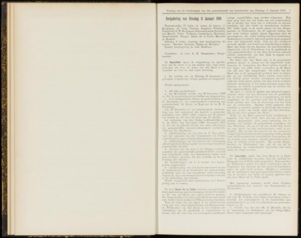Raadsverslagen van de gemeente Leeuwarden, 1865-2007 (Notulen) 1910