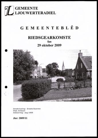 Notulen van de gemeenteraad van Leeuwarderadeel 2009-10-29