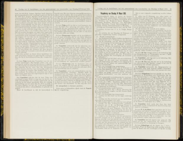 Raadsverslagen van de gemeente Leeuwarden, 1865-2007 (Notulen) 1916-03-14